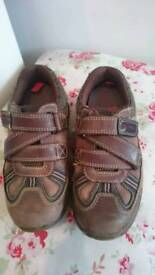 Clarkes and reebok shoes size 10.5