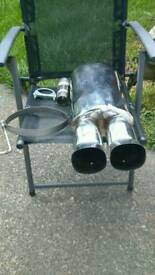 Twin exhaust New