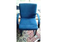 Free Chair x 2 - Colour Blue.