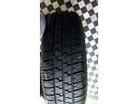 Pirelli 4 stud spare wheel, rim and tyre, 185/65/R15