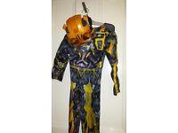 halloween costume fancy dress transformers size 3-4