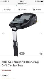 Family fix car seat base