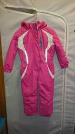 Girls ski/snow suit