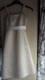 BRIDESMAID DRESS - SIZE 14/16 (Custom Made) CHAMPAGNE COLOUR - CALF LENGTH NEW