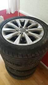 Audi a4 alloys 2013