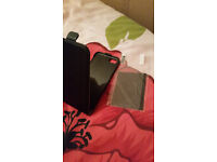 iPhone 7 Leather Case and Screen Protector