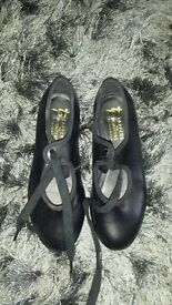 Girls Dance Jazz, Tap And Ballet Shoes