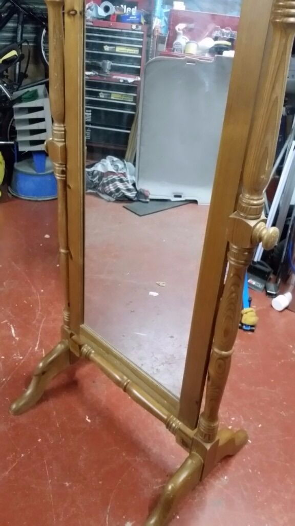 Mirror with nice solid pine wooden framein Southampton, HampshireGumtree - Mirror with nice solid pine wooden frame the measurements are the height is 152 cm and the depth is 77 cm