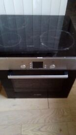 Bosch self cleaning oven and hob