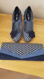 Ruby shoo shoes & bag size 6