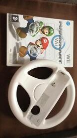 Mariokart wii - with game wheel