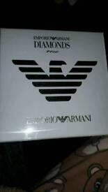 Emporio armani diamond ladys
