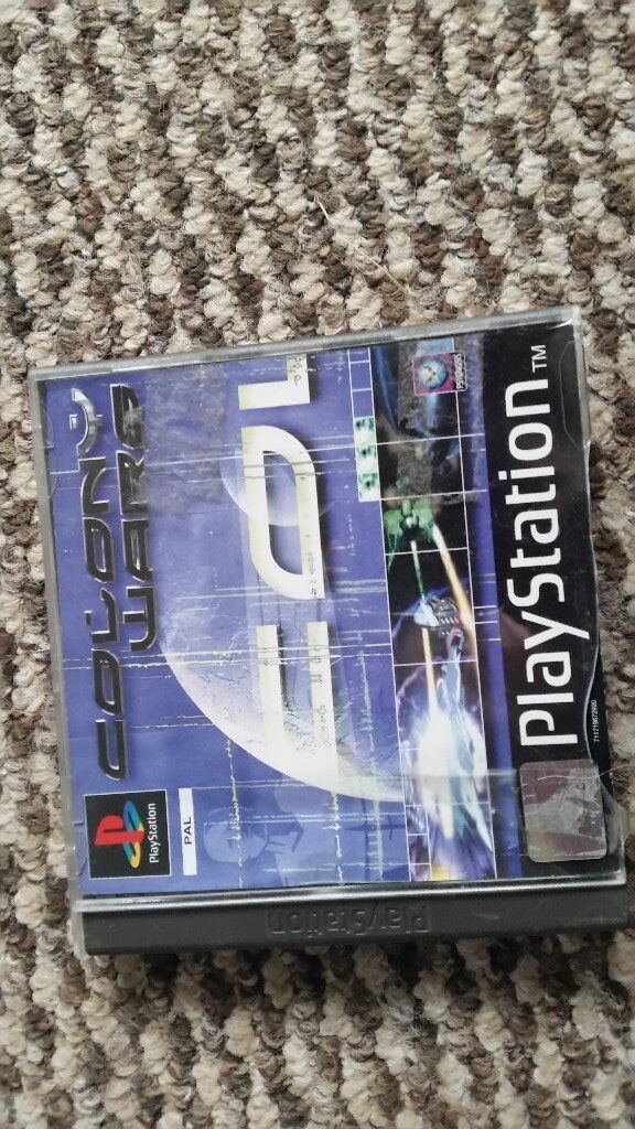 playstation 1 Colony Wars with instructions