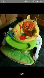 Fisher price giraffe sit me up seat and tray