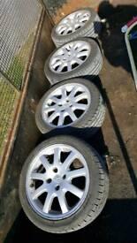 "Peugeot 206 16"" alloy wheels"