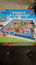 Disney snakes and ladders game