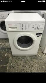 Bosch washing machine 6kg 1400rpm Full Working very nice 4 month warranty free delivery