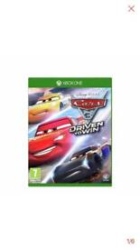 Cars 3: Driven to win Xbox game