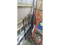 Metal Gate and Railings