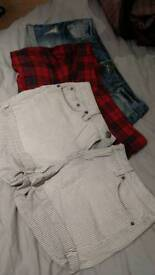 (All for £7) 3 womens size 10 shorts all in good condition
