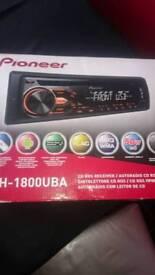 Pioneer radio cd