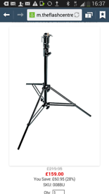 Manfrotto 008 Light Stand