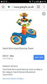 Vtech sit up and stand dancing tower