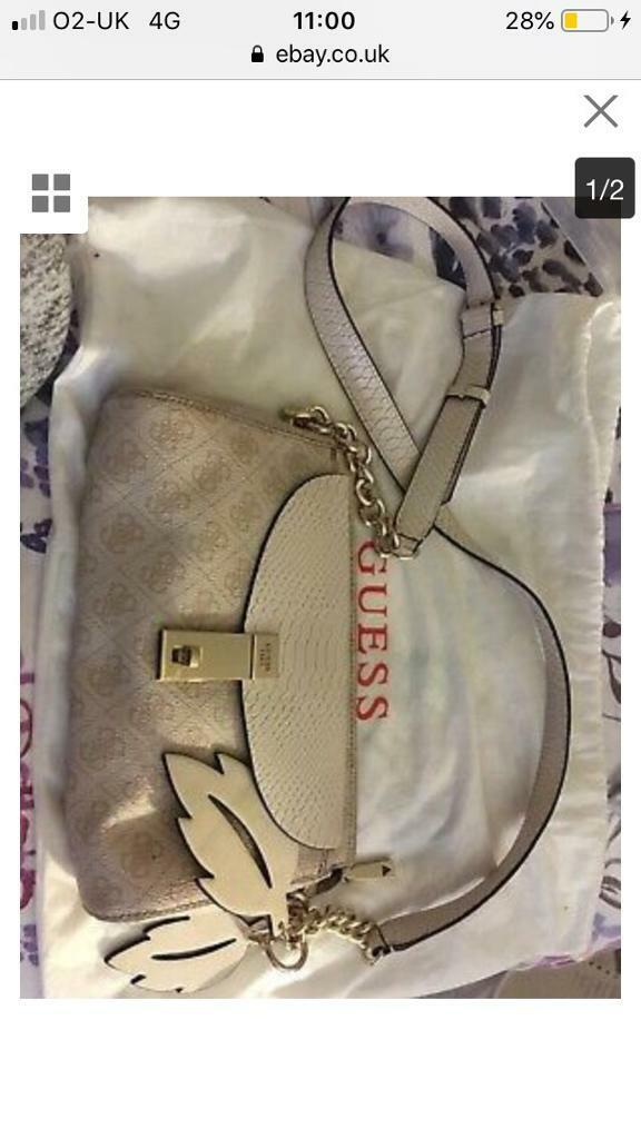 cdc13ba5e3 Genuine Guess bag