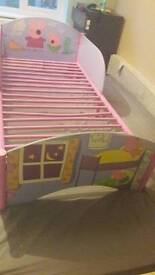 Peppa Pig toddler bed