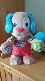 fisher price laugh n learn puppy