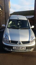 2008 Renault Kangoo 1.2 Wheelchair accessible