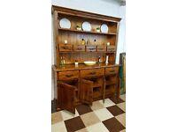 large barker and stonehouse solid plantation wood kitchen dresser