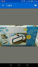 PORTABLE BED RAIL with BOX