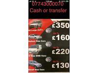 Huddersfield scrap car and van buyer