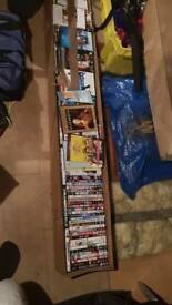 200+ DVDs, Films and Box Sets. ALL GOOD STUFF. Ideal for car boot! House clearance!