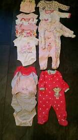 0-3mnths baby clothes bundle