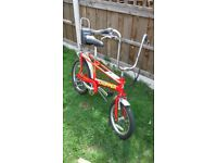 raleigh chopper brand new brake cabels just fitted