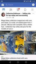 Mega bikes collectors magazines with bikes