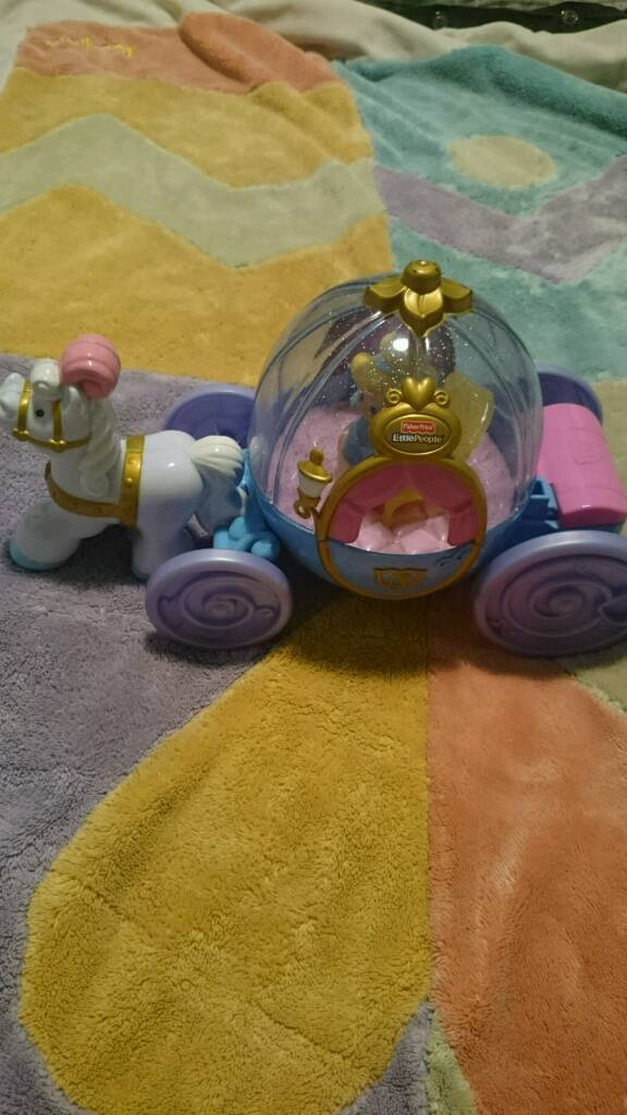 Little people cinderella carriage