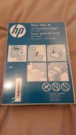 "150 HP InkJet Vivid Glossy Photo Paper 6.25"" x 8.5"" / 15.9 x 21.6cm - BRAND NEW"