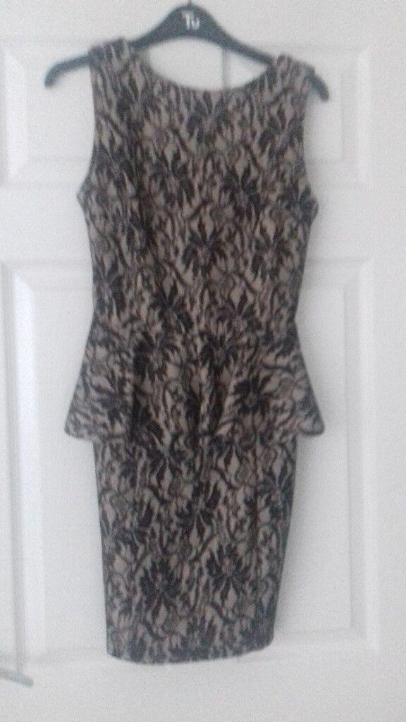Dress with peplum size 8