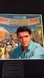 Elvis Presley Soundtrack - Roustabout rare red spot