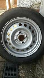 Micra wheel and tyre