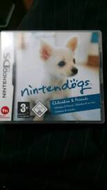 Nintendo ds chihuahua and friends