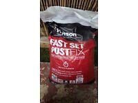 Hanson Fast Set Postfix 20kg