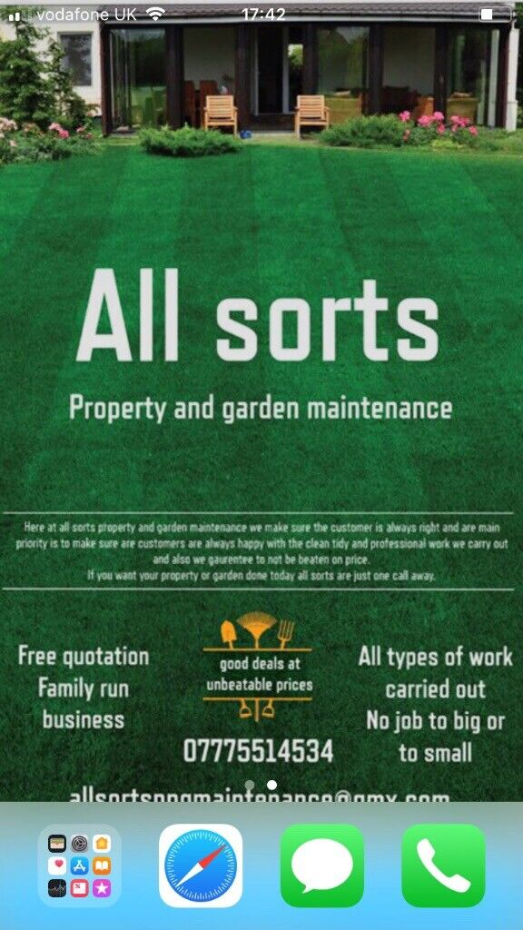 Allsorts property and garden maintenance | in Reading, Berkshire