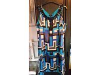 Ben de lisi debenhams size 16 blue dress
