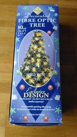 Fibre Optic decorated tree