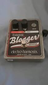 Electro Harmonix Bass Blogger fuzz/drive pedal
