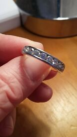 BEAUTIFUL DIAMOND ETERNITY RING